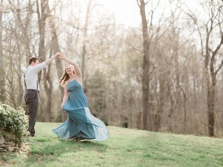 James River Estate Engagement in Richmond Virginia  |  Jordan & Jacob| Sarah Duke Photography