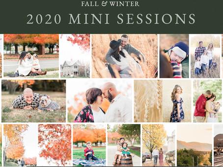 2020 Fall & Winter Mini Sessions in Richmond Virginia | Sarah Duke Photography