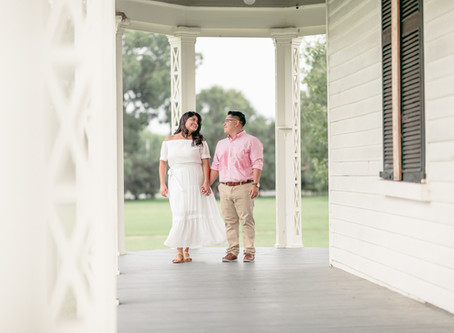 Sam & Claudia | Surprise Proposal | City Point Park in Hopewell Virginia | Sarah Duke Photography