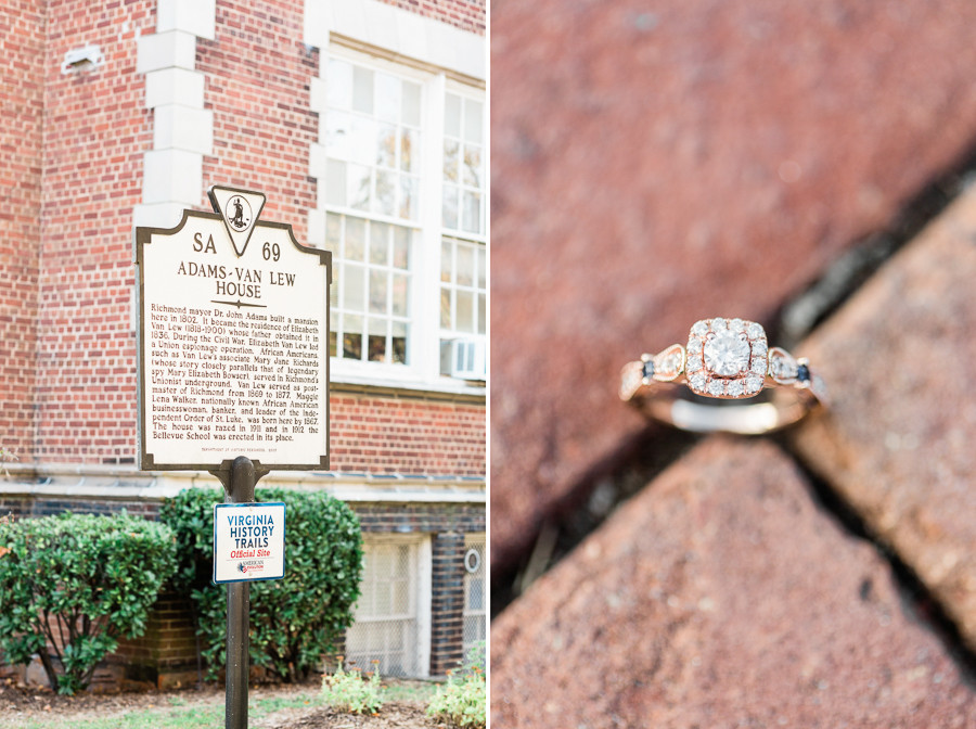 Richmond Virginia Wedding Photographer Sara & Duke Boathouse at Sunday Park Engagement Session