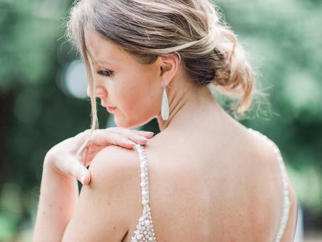 Botanical Bridal Session at The Armour House & Gardens|Adriana| Sarah Duke Photography