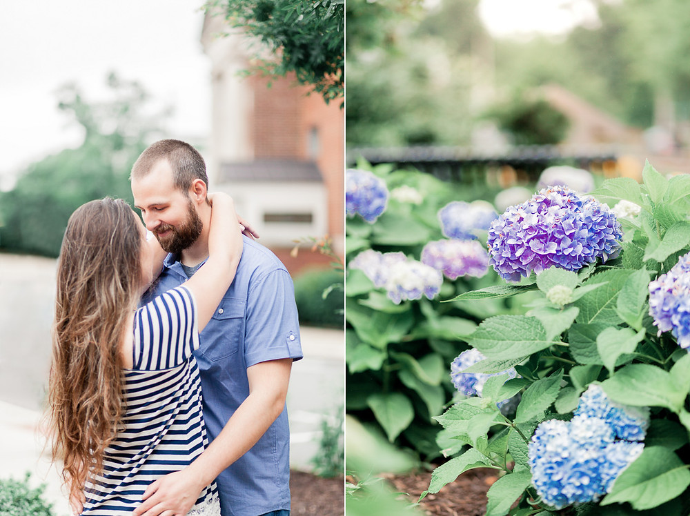 Photo By: Sarah Duke Photography | Sarah Duke Photo | Gardens | A Rain & Shine Engagement | Crystal & David | Ashland Train Station & Crump Park Engagement Session | Virginia | Published Fine Art Wedding and Family Portrait Photographer in Mechanicsville Virginia
