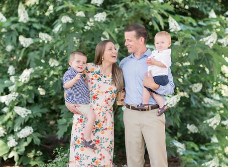 Armour House & Gardens at Meadowview Park| Hutson Family| Sarah Duke Photography