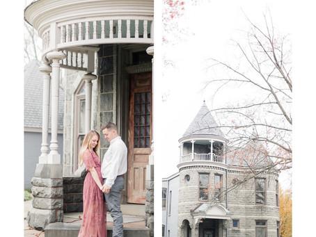 A Virginia Museum of Fine Arts Engagement  |  Kelly & Austin| Sarah Duke Photography