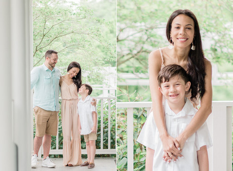 Armour House & Gardens at Meadowview Park | Spring 2020 | Brown Family | Sarah Duke Photography