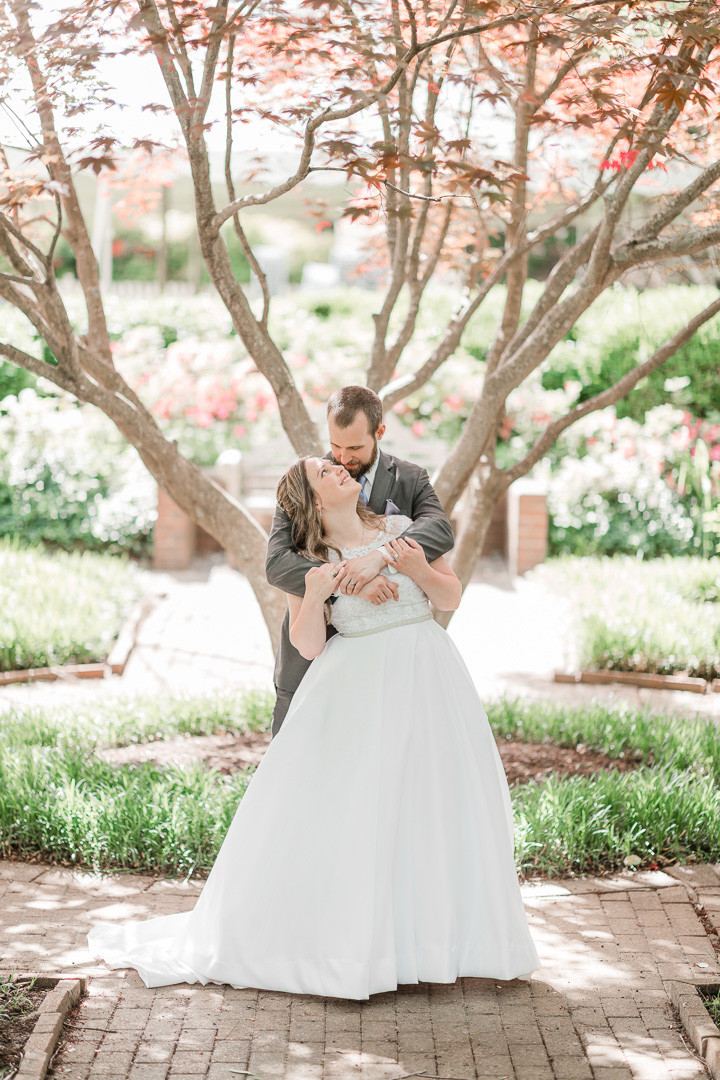 Photo By: Sarah Duke Photography Wedding at The Manor House at King's Charter in Mechanicsville Virginia Spring 2019 Crystal & David