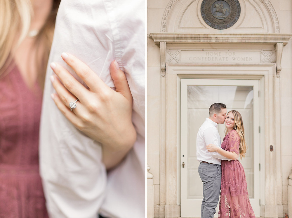 © 2015-2020 Sarah Duke Photography | Virginia Museum of Fine Arts Engagement Session | Kelly & Austin | Fine Art Wedding Portrait Photographer