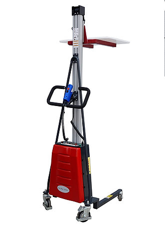 """Pake Handling Tools Electric Work Positioner Truck, 220 lbs Cap. 67"""" Lift Height"""