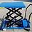 Thumbnail: Pake Handling Tools - Low Profile Double Scissor Lift Table, 660 lbs