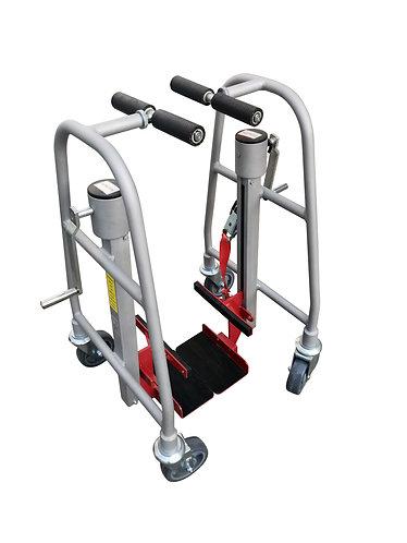 Pake Handling Tools - Manual Machinery Mover, 1100 lbs Capacity