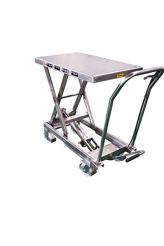 Pake Handling Tools - Stainless Scissor Lift Table, 550lbs