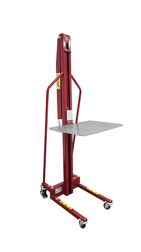 Pake Handling Tools - Winch Stacker, Manual Work Positioner Lift Truck 440 Cap.