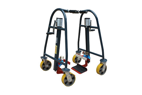 Pake Handling Tools Manual Machinery Mover, 1320 lbs (Set of 2)