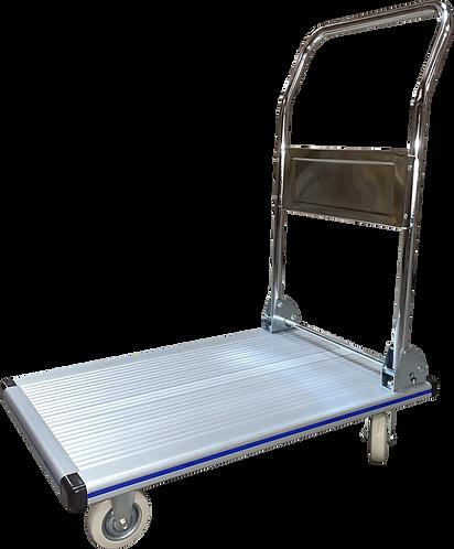 "Pake Handling Tools Folding Platform Truck, Aluminum, 29.5""x18.5"", 330 lbs Cap."
