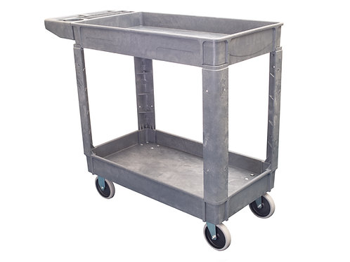 "Pake Handling Tools Plastic Utility Cart, 550 lbs Capacity, 31"" x 17.2"""