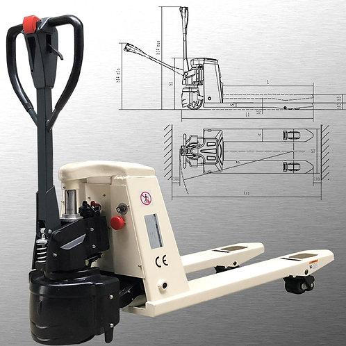 "2 X Pake Handling Tools - 48"" X 27"" Electric Pallet Jack, 4400 lbs Capacity"