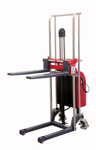 Pake Handling Tools Electric Forklift Stacker, 880 lbs Capacity