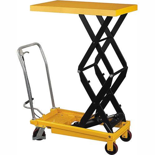 "Pake Handling Tools - Double Scissor Lift Table, 275 lbs, 19.6 X 33"" Platform"