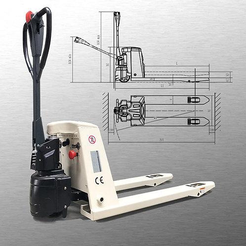 "2 X Pake Handling Tools - 48"" X 27"" Semi-Electric Pallet Jack, 4400 lbs Capacity"