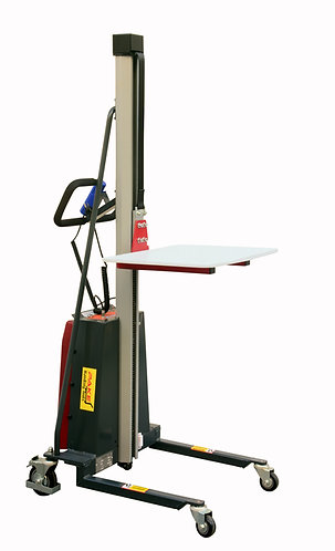 Pake Handling Tools Electric Work Positioner Lift Truck, 330 lbs Capacity
