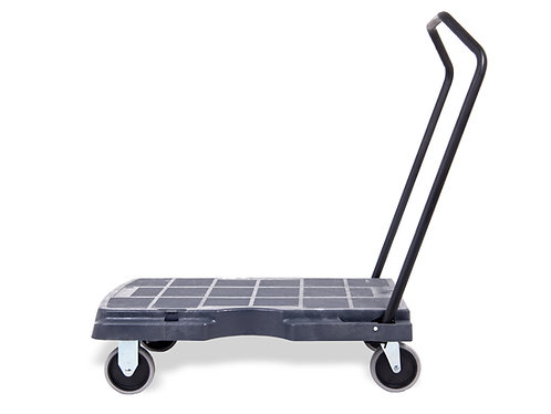 Pake Handling Tools - Triple Plastic Trolley, 400 lbs Capacity