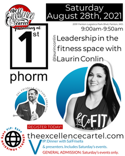TEC@1STPHORM LAURIN CONLIN LEADERSHIP IN THE FITNESS SPACE