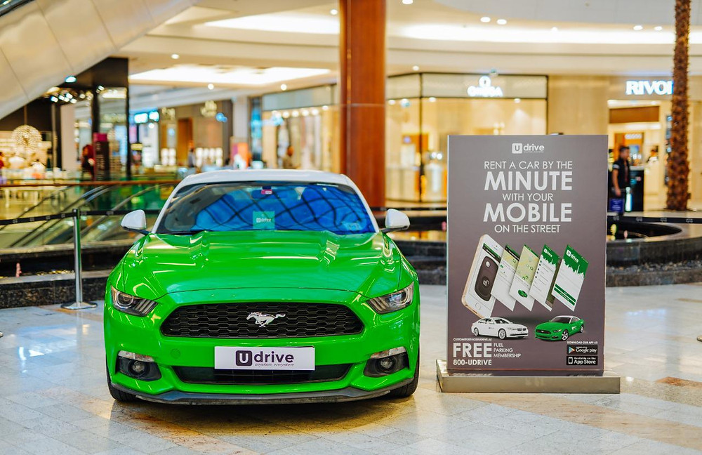 Udrive Partners with Al Ghurair Center