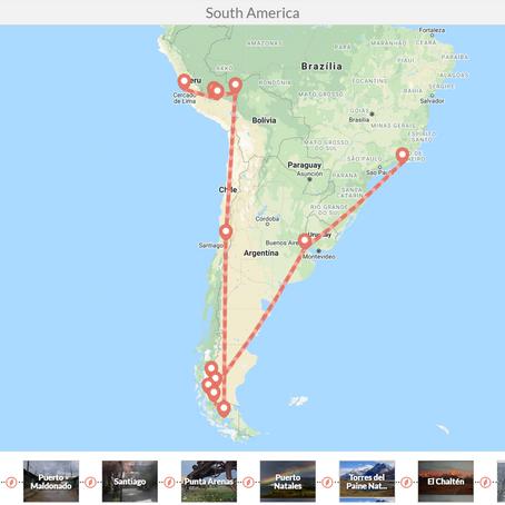 Dél-Amerika körutazás