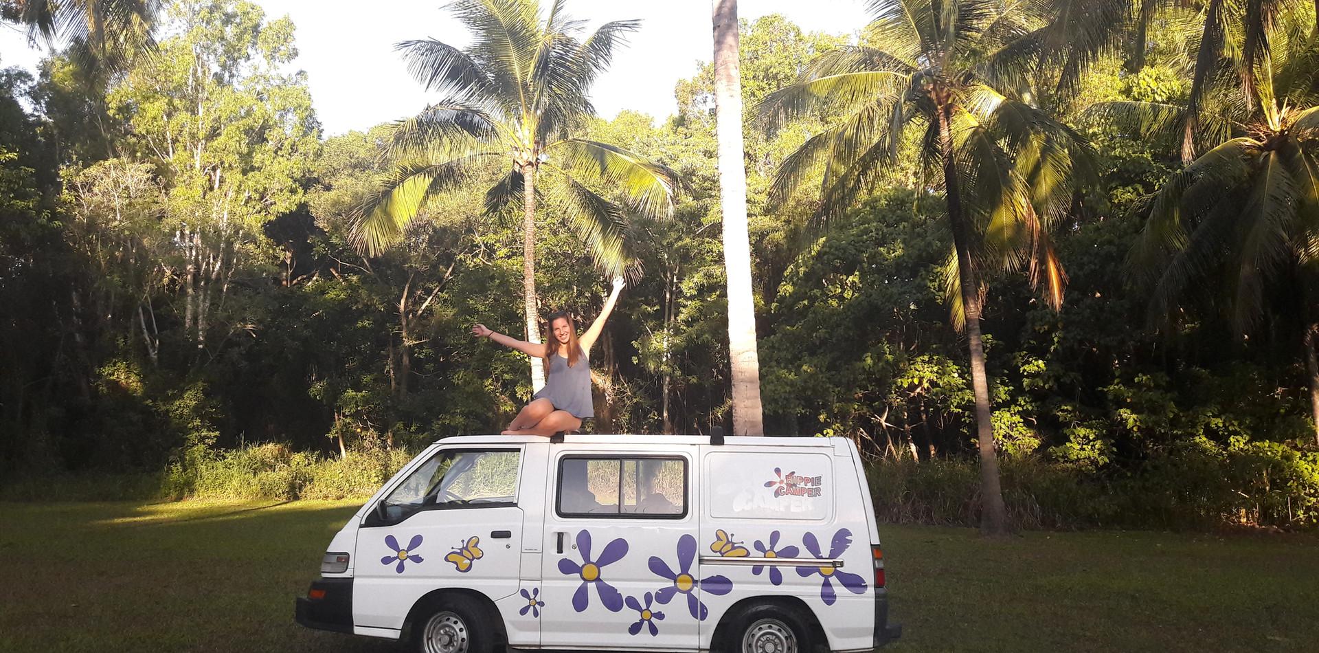 Australian roadtrip with camper van