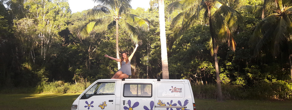 Australian roadtrip with camper van