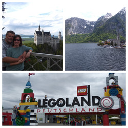 Legoland, Neuschwanstein, Hallstatt