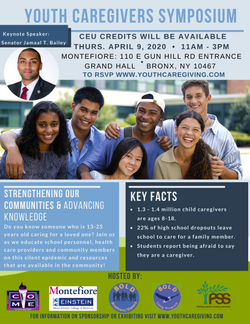 COME's youth caregivers symposium