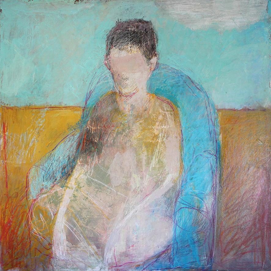 Garçon au fauteuil bleu