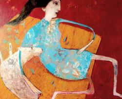 Olga, la robe chinoise ..
