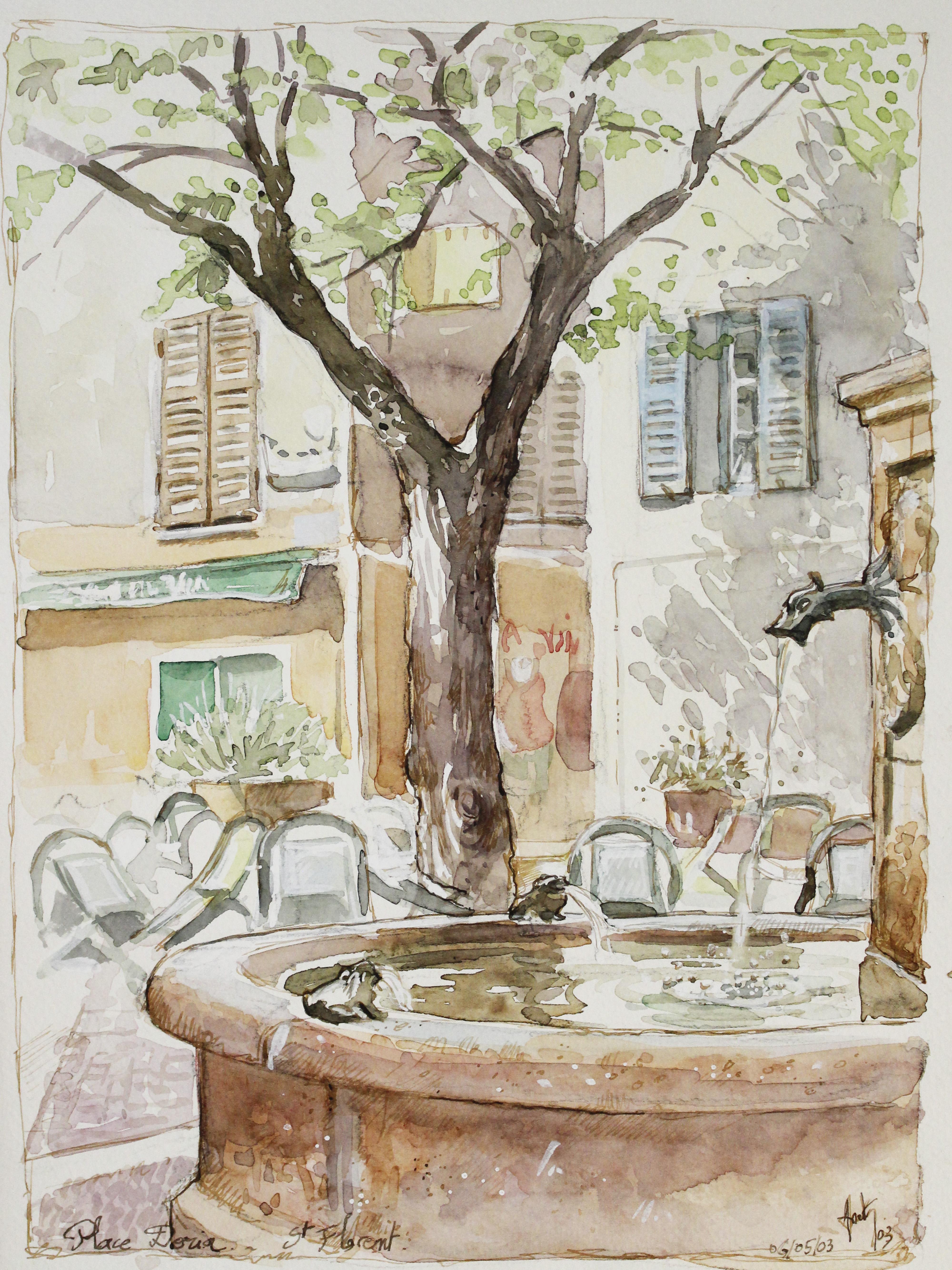 Place aux grenouilles, Saint Florent