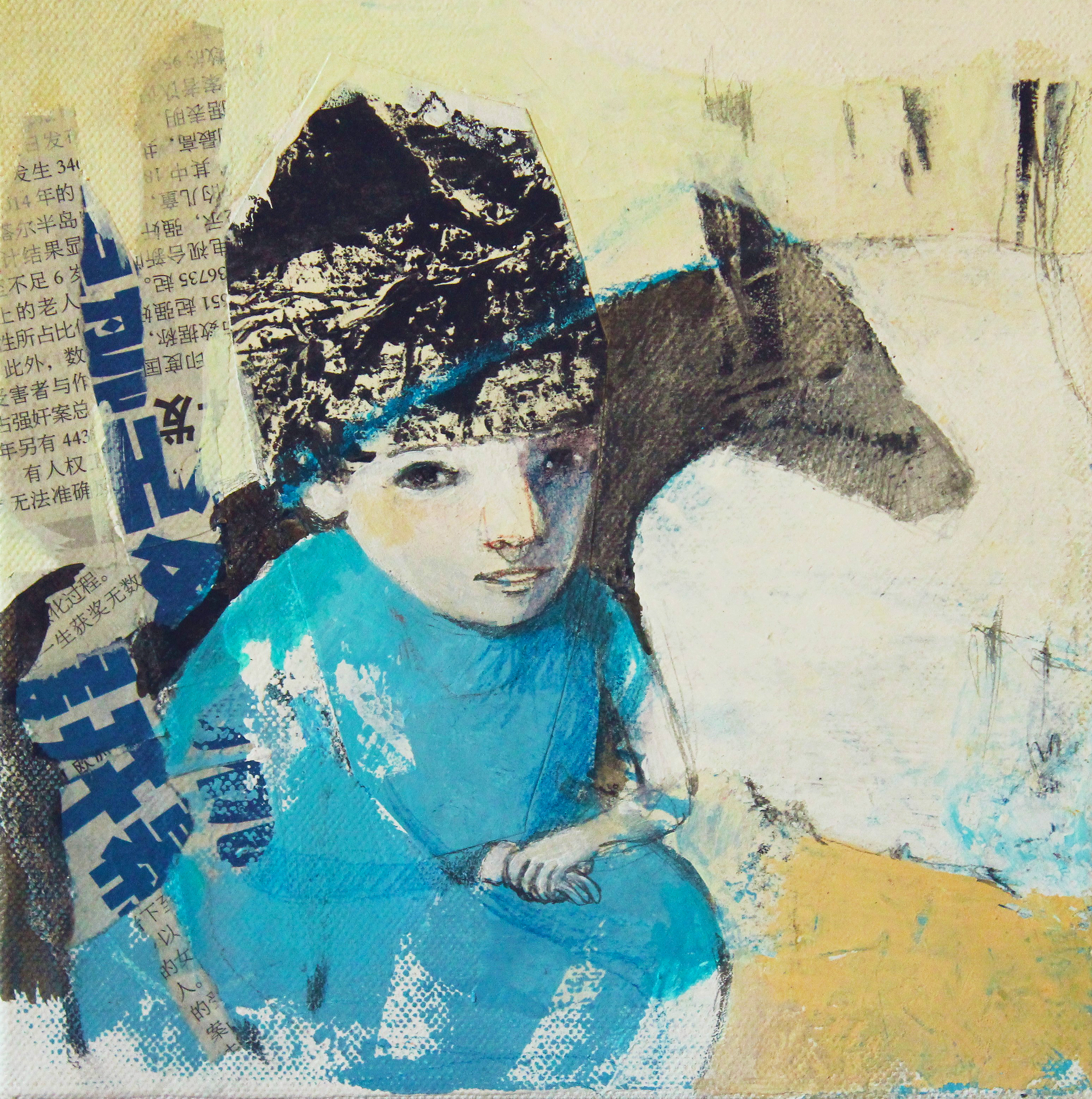 Blue pilgrim