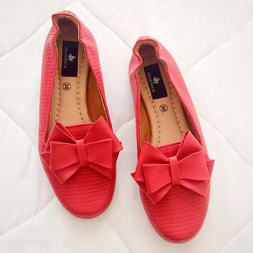 Baletas rojas Abelina