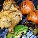 Half Roast Chicken W/ Rice or Salad