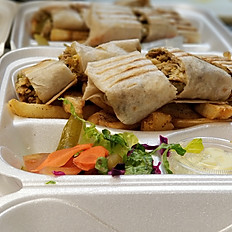 Arabic Cut Shawarma Servings