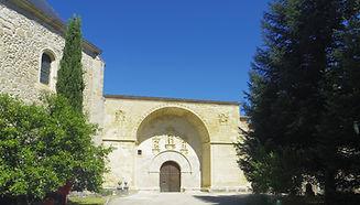 Porta del Patio Ave María de El Paular