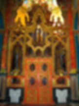 Transparente Monasterio de Santa maría de El Paular