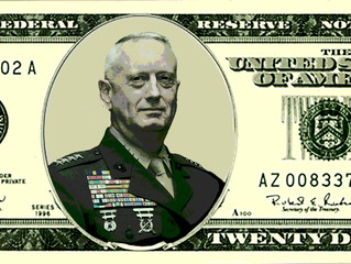 Mattis to be on $20 Bill?