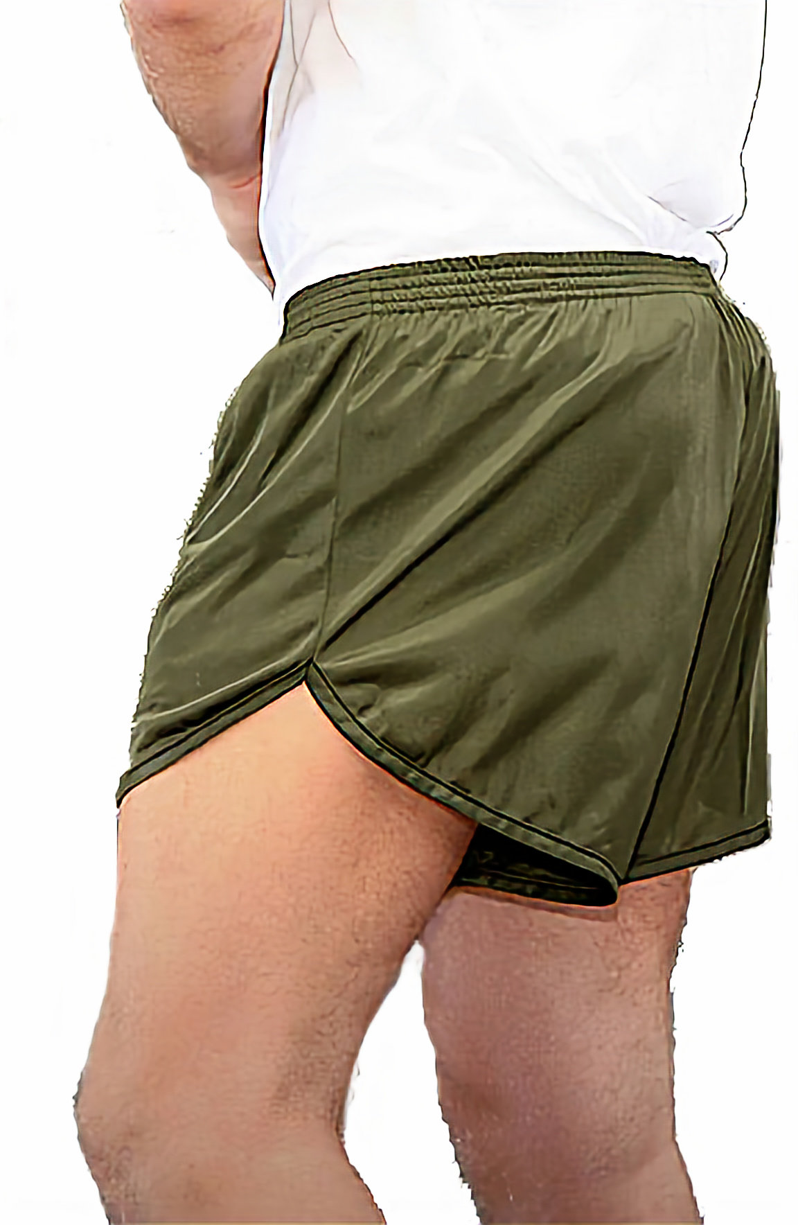 Adidas Mens Response 7-Inch Shorts - Bold Orange