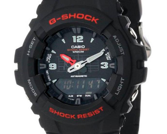 Casio G-Shock Analog/Digital Watch G100-1BV