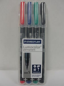 Staedtler Lumocolor Permanent Superfine Map Pen
