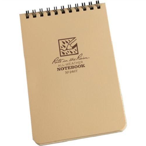 Rite in the Rain Top Spiral Notebook 4x6