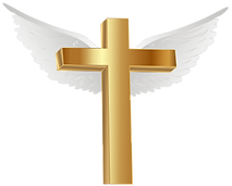 Gold_Cross_with_Angel_Wings_PNG_Clip_Art