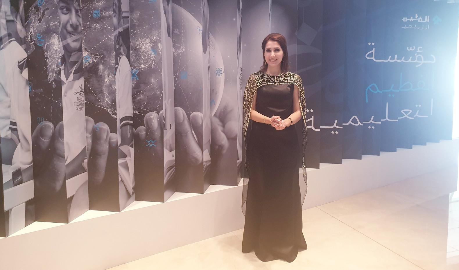 مشاركتي في مؤتمر العربية شغفي ومستقبل التعليم في دبي