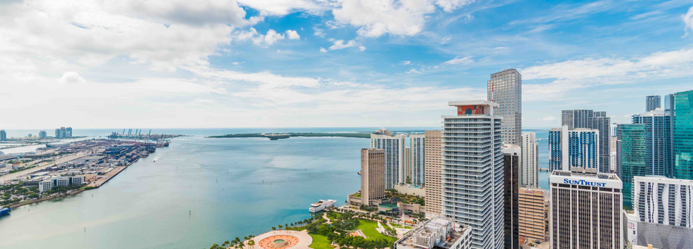Miami Downtow View