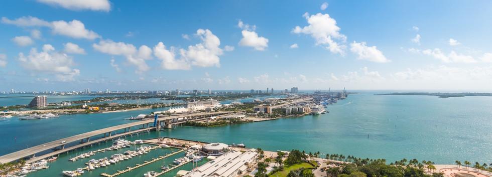 Port of Miami & Miami Beach